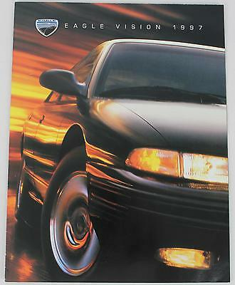 Chrysler Eagle 1997 Vision TSi 4 Page Poster Sales Brochure / Literature
