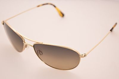 DISPLAY MODEL Maui Jim MJ-245-16 Baby Beach Gold HCL Bronze Titanium