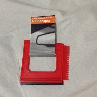 4inch CAR VAN LORRY ICE SCRAPER WITH RUBBER