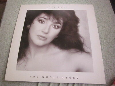 Kate Bush 1986 The Whole Story 12x12 Promo Cover Flat Poster Double Sided