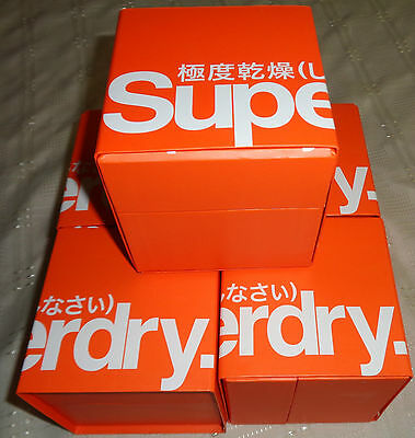 Job Lot Of 5 Womens Superdry Antique Gold/silver Dial Chain Watches Brand New