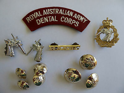 ROYAL AUSTRALIAN ARMY DENTAL CORPS Patch, badges and buttons