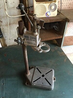 Sears And Roebuck Vintage Drill Stand Imported From USA  For Electric Hand Drill