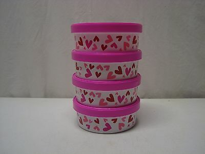 Set of 4 Heart Containers