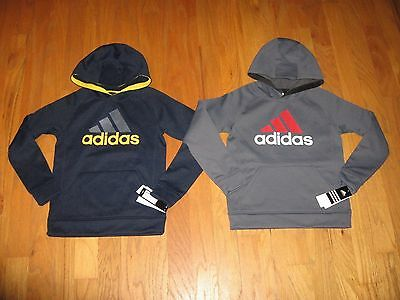 ADIDAS Pull-over Sweatshirt HOODIE Jacket Boys Size S/M/L NWT