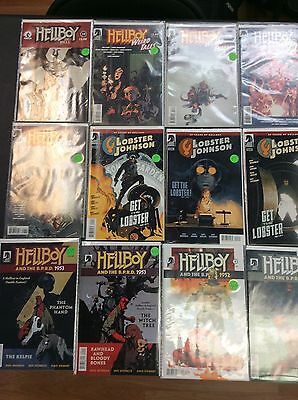 Lot of Mixed Hellboy Issues Dark Horse Comics Series 21 TOTAL