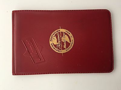 Thompson's World's Best Lightning Protection Memo Book/Pad Plastic Cover