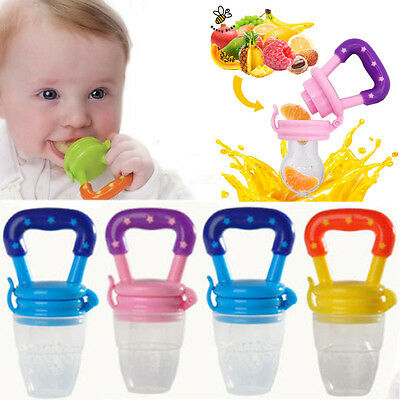 1x Nipple Fresh Food Fruits Milk Nibbler Feeder Feeding Tool Safe Baby Supplies