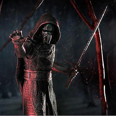 Star Wars Pewter Kylo Ren Limited Edition Figurine Licensed By Royal Selangor