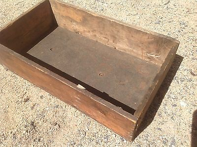 Vintage Timber Box Draw Shelf