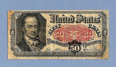 FR 1380 - Fifty Cents 5th Issue Crawford Fractional Currency Sharp Extra Fine