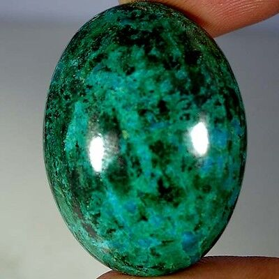 83.35Cts 100% NATURAL GREEN BLUE CHRYSOCOLLA OVAL CABOCHON AAA QUALITY GEMSTONES
