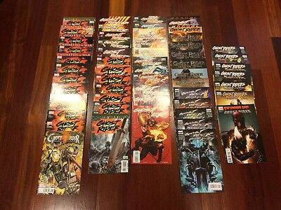 Ghost Rider 56 Issue Marvel Comics Lot 1-35 Heaven's On Fire Danny Ketch Trail T