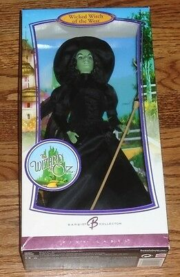 The Wizard of Oz Wicked Witch of the West  ~  Pink Label  ~  Barbie  ~  Like NIB