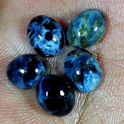 12.65Cts. 8X10MM 100% NATURAL PIETERSITE OVAL CABOCHON ~WHOLESALE LOT~ GEMSTONES