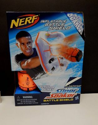 'COMBO'  Nerf Super Soaker Inflatable Battle Shield and Soaker Burst