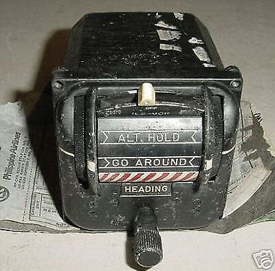 620361-60, Vintage Airline Flight Reference Selector w/ Overhaul Tag