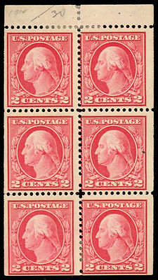 406a 2¢ Washington perf 12 SLW - read