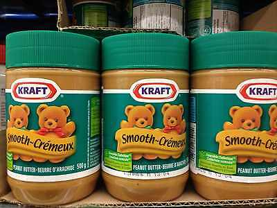 Kraft Creamy Peanut Butter 500Gm 3 Jars!