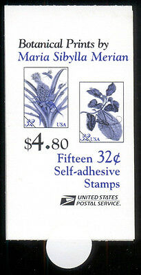 BK261 32¢ Botanical Prints MNH