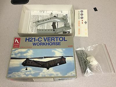 "H21-C Vertol ""Workhorse"" U.S. Army Helicopter 1/72 Scale Model Kit"
