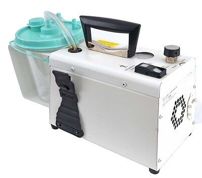 SSCOR S-SCORT Duet Medical 2014A Portable Hospital Suction Vacuum Pump System