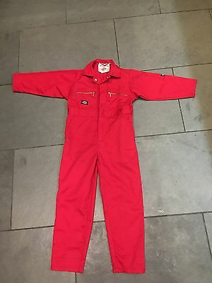 Child's Mechanic or Red Arrows Overalls - 'Dickies' Aged 5-6