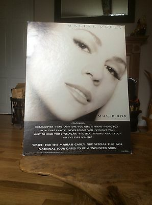 Mariah Carey - Musicbox - Promo Only Standee, Extremely Rare Item