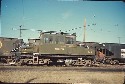 Milwaukee Electric Railway Slide - Freight Motor L4 - TMER & TCO - March, 1957