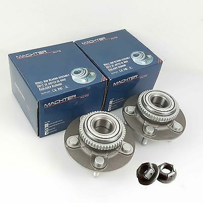 Genuine Ford Falcon Nuts & ILJIN Front Wheel Bearing Hubs AU/BA/BF Machter Pair