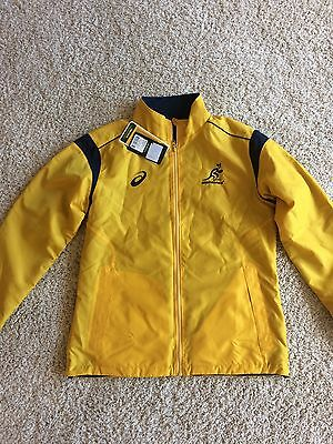 New Mens Wallabies Reversible Jacket