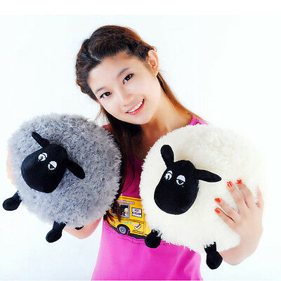 Lovely Soft Stuffed Sheep Plush Pillow Sofa Home Cushion Kid Baby Toy Gift HOT