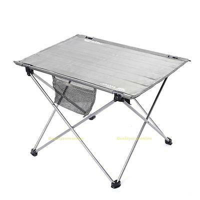Portable Aluminium Alloy Travel Camping Picnic Barbecue Folding Table Outdoor
