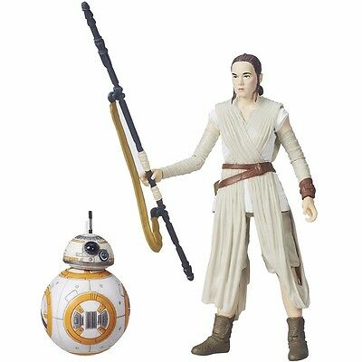 STAR WARS The Force Awakens BLACK Series 6 Inch Figure REY & BB-8 TAKARA TOMY