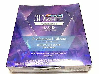 Crest3D Whitestrips Luxe Professional Effects (10 Strips 5 Pouches)