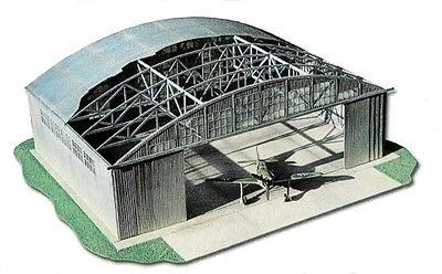 Air hangar - the scale of 1/48 - all parts cut by laser
