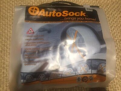 Snow Sock - Auto Sock size 698 - New and Unsued