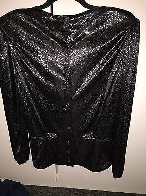 Sparkly Blouse 70s/80s
