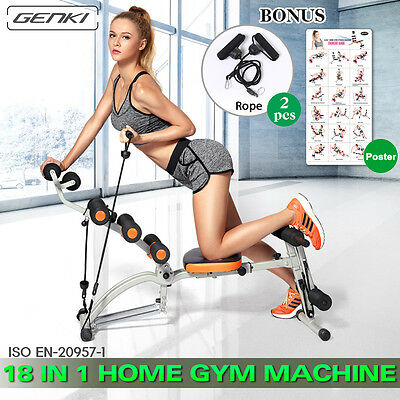 18 in 1 Wonder Smart Core Exercise Trainer Ab Workout Fitness Home Gym Machine