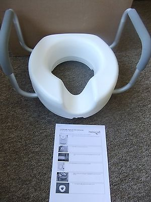 Raised toilet Seat with Arms - Brand New