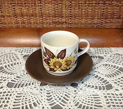JOHNSON OF AUSTRALIA 1970S 1980s CUP AND SAUCER RETRO VINTAGE