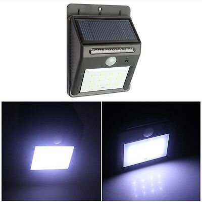 Solar Light,12 LED Solar Motion Sensor Induction Lamp for Garden