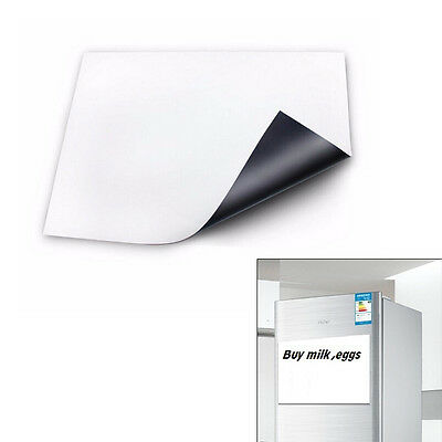 A3 Magnetic Whiteboard Fridge Kitchen Home Reminder Dry-erase White Boards