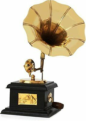 Homestyle India Brass Antique Gramophone Show