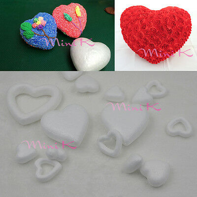 Handmade Foam Heart Polystyrene Styrofoam DIY New Decorations Party Accessory