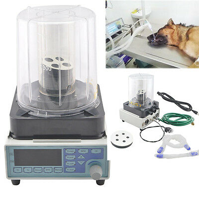 Veterinary Machine pneumatic driving electronic Monitor Anesthesia Ventilator A+