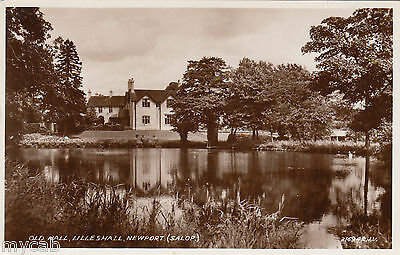 Postcard Lilleshall near Newport Shropshire early view of the Old Hall RP