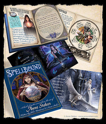 Stunning 'Spellbound' Spell Book by Anne Stokes ~ Ritual~Pagan~Wicca~Spells