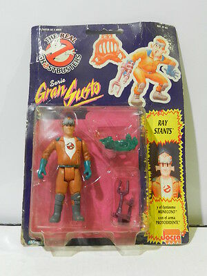 Ghostbusters Action Figure Ray Stants 1992 Sealed In Card Rare Kenner