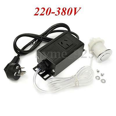 220-380V Air Switch Button with Plug For Massage Spa Waste Garbage Disposal